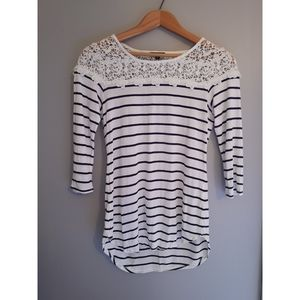 NWOT~ Dynamite | Tunic Style Striped Top